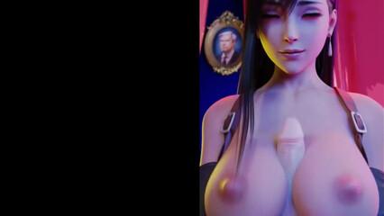 Компиляция красивых горячих кадров из сексуальных мультиков