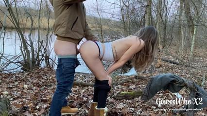 Сняли публичный секс в парке для своих любимых подписчиков